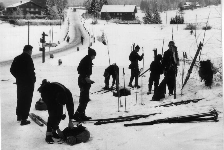 1961 Ankunft in Frauenberg