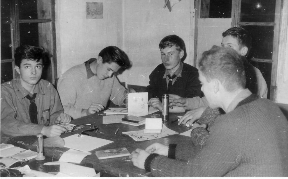 1963 in der Hütte